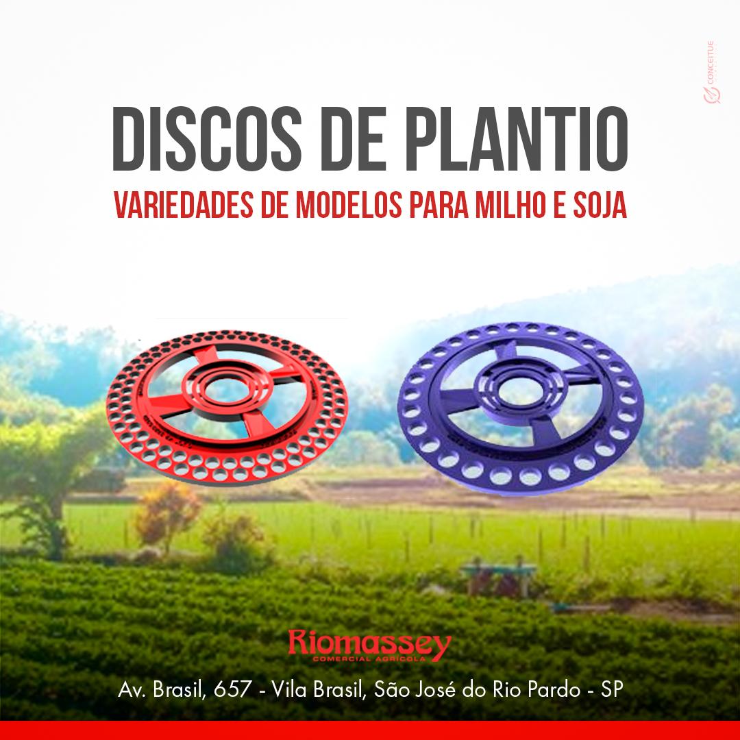 RIOMASSEY - Discos de plantio socidisco - outubro