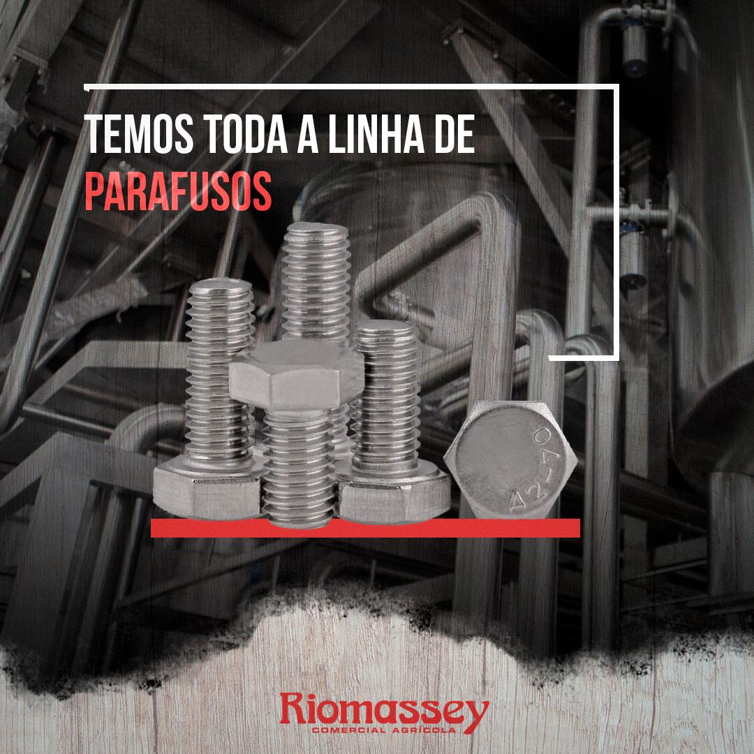 RIOMASSEY - Linha de Parafusos