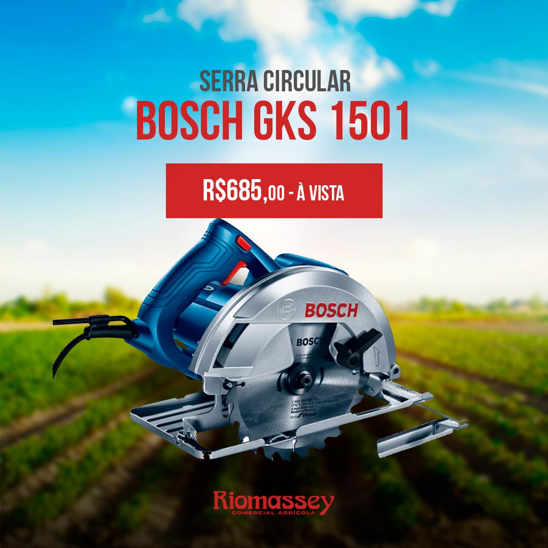 RIOMASSEY - Serra Circular - Bosch GKS 1501
