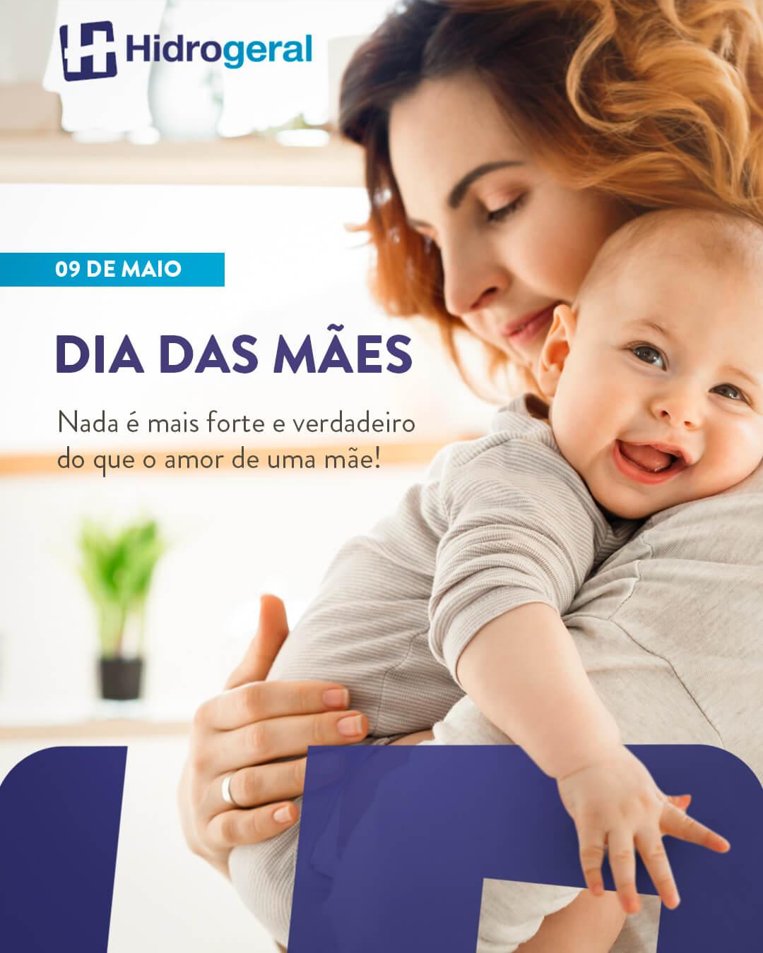 HIDROGERAL - Dia das mães