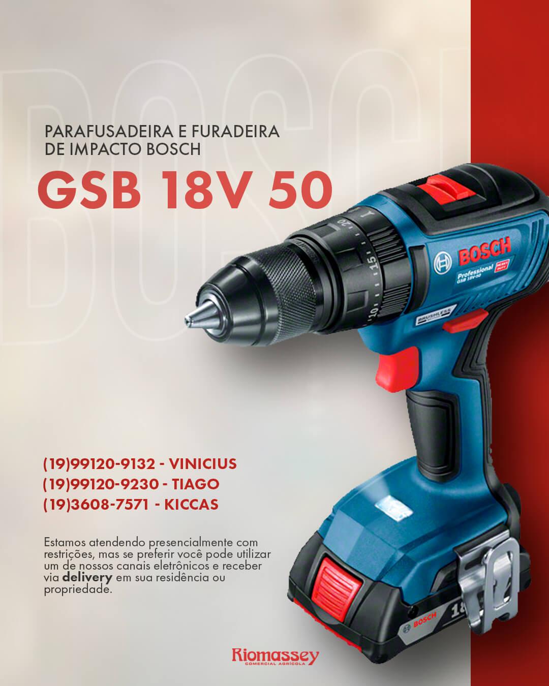RIOMASSEY - PRODUTO - bosch gsb 18v 50
